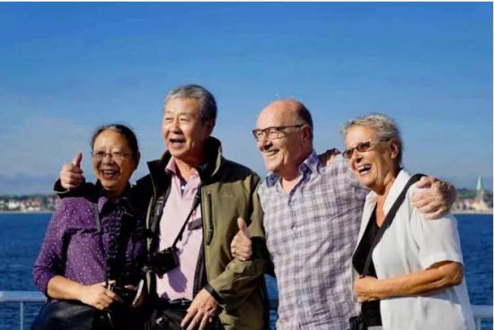 老年人爱旅游的可不少 盈科旅游启动万人游北京活动