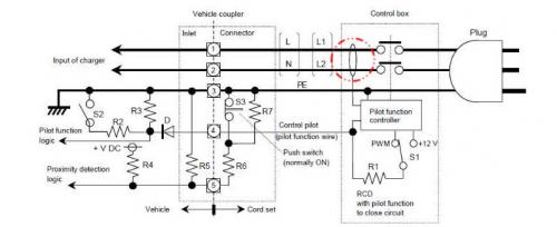 高压控制盒 内部电路
