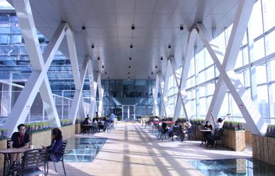 顶级写字楼是什么样子?弘高创意设计之京东大厦