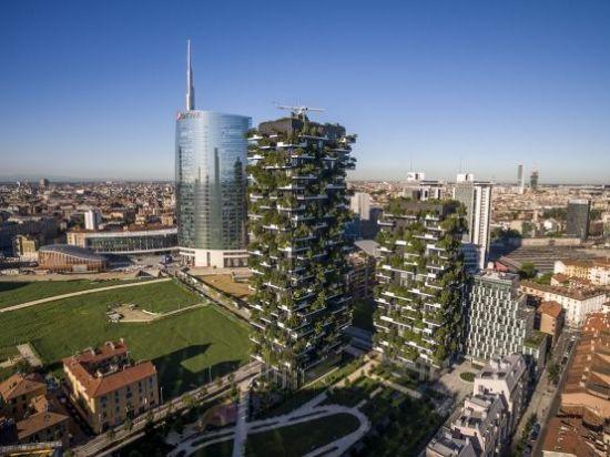 米兰垂直森林全项目总共有2.