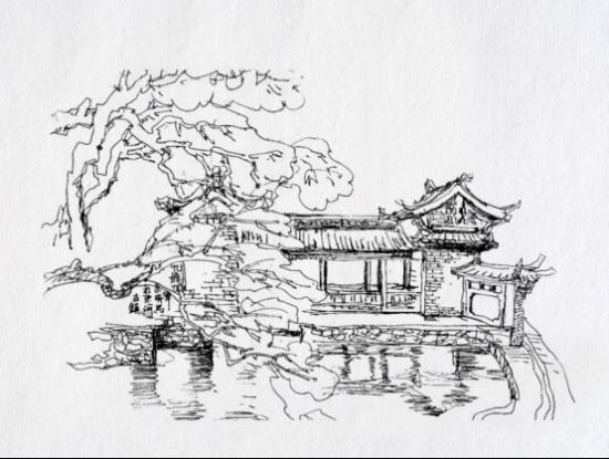 木雕素描手绘图集