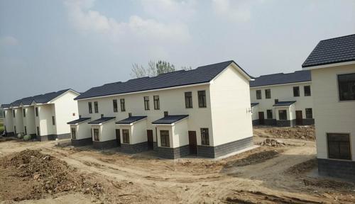 合肥国瑞钢结构装配式建筑助推合肥市美丽乡村建设