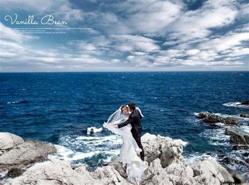 《花禾》青岛大连海边拍婚纱照注意事项,三亚海景婚纱