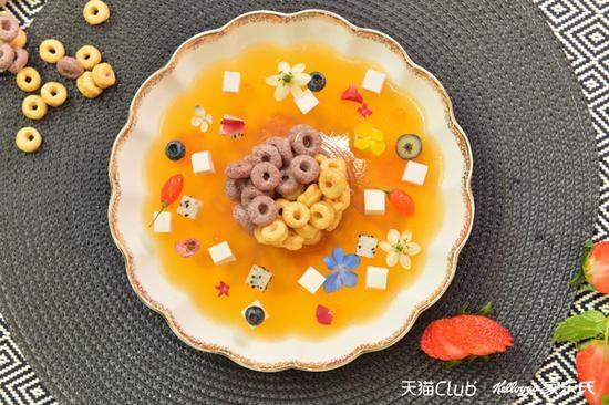 创意美食素材广告格