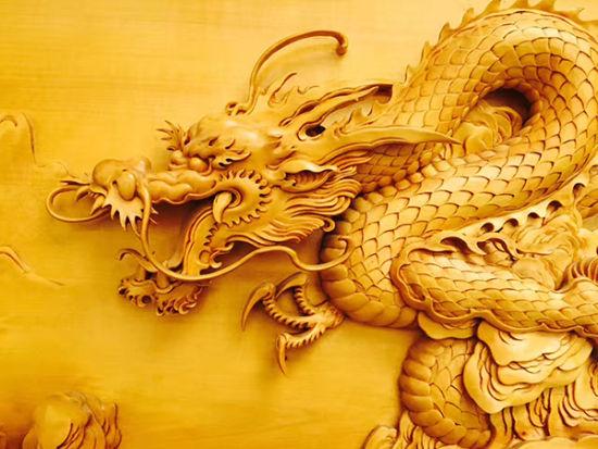 匠心雕龙——黄小明木雕艺术中的龙文化