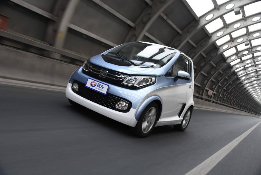 众泰新能源e200,电动a00级电动汽车的代表作