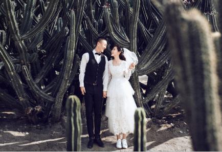 厦门三亚婚纱摄影前十名贴吧推荐《蓝菲》深圳拍婚纱照景点哪家好