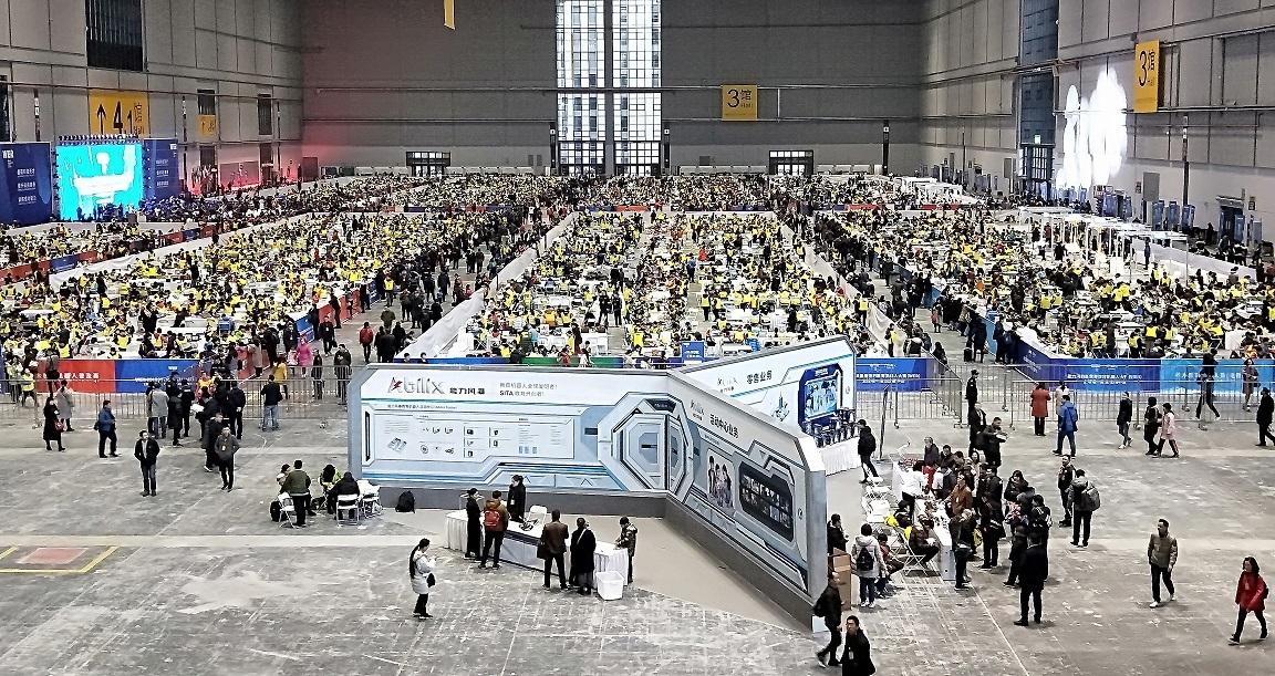 wer 2018赛季世界锦标赛——一场教育机器人的狂欢