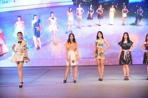 2018海洋公益天使大赛暨第三届精英游艇模特大赛:diy环保服装展示